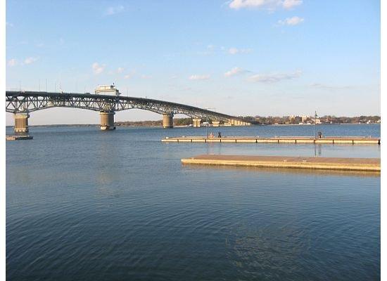 Coleman bridge.