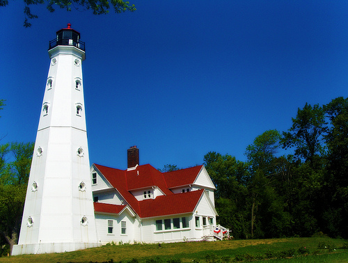 ‪North Point Lighthouse‬