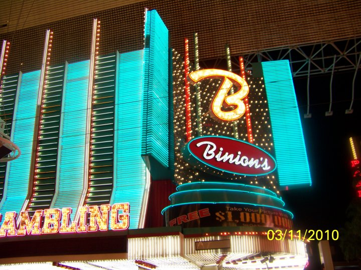 Binions casino meadowlands casino washinton pa