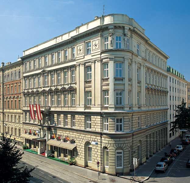 ベルビュー ホテル ウィーン