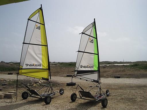 Landsailing Bonaire