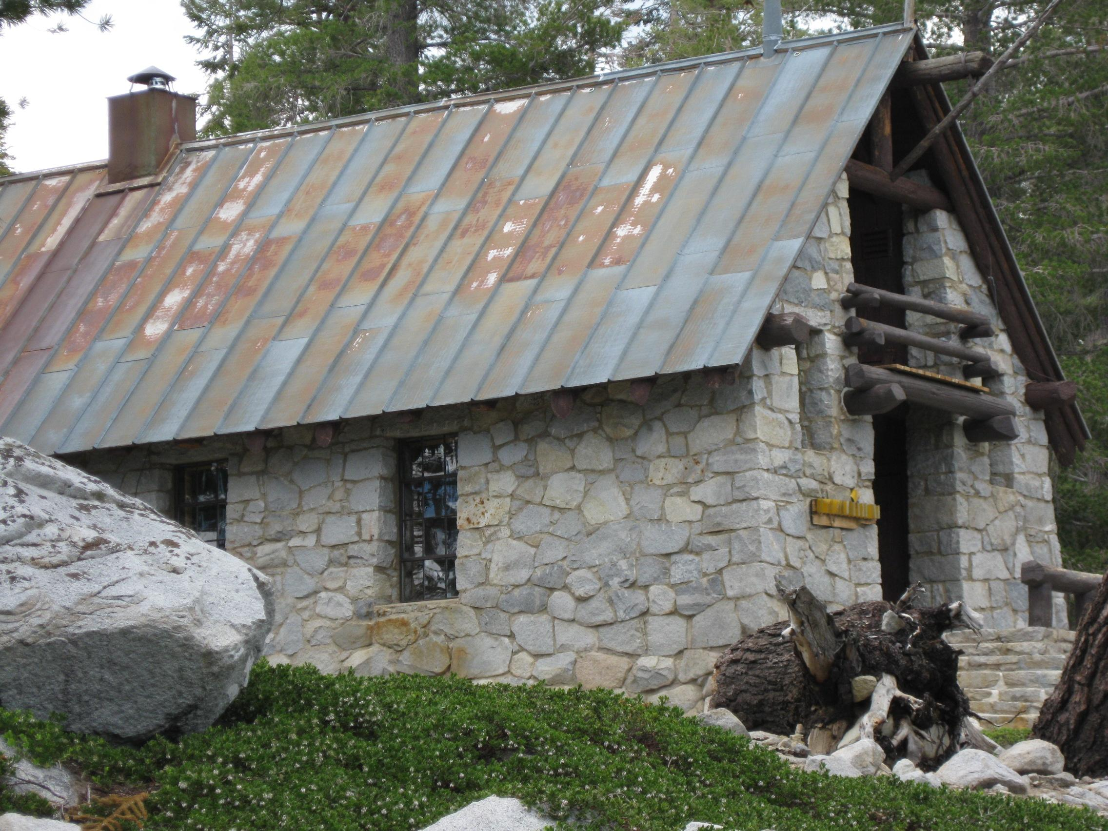 Ostrander Lake Ski Hut