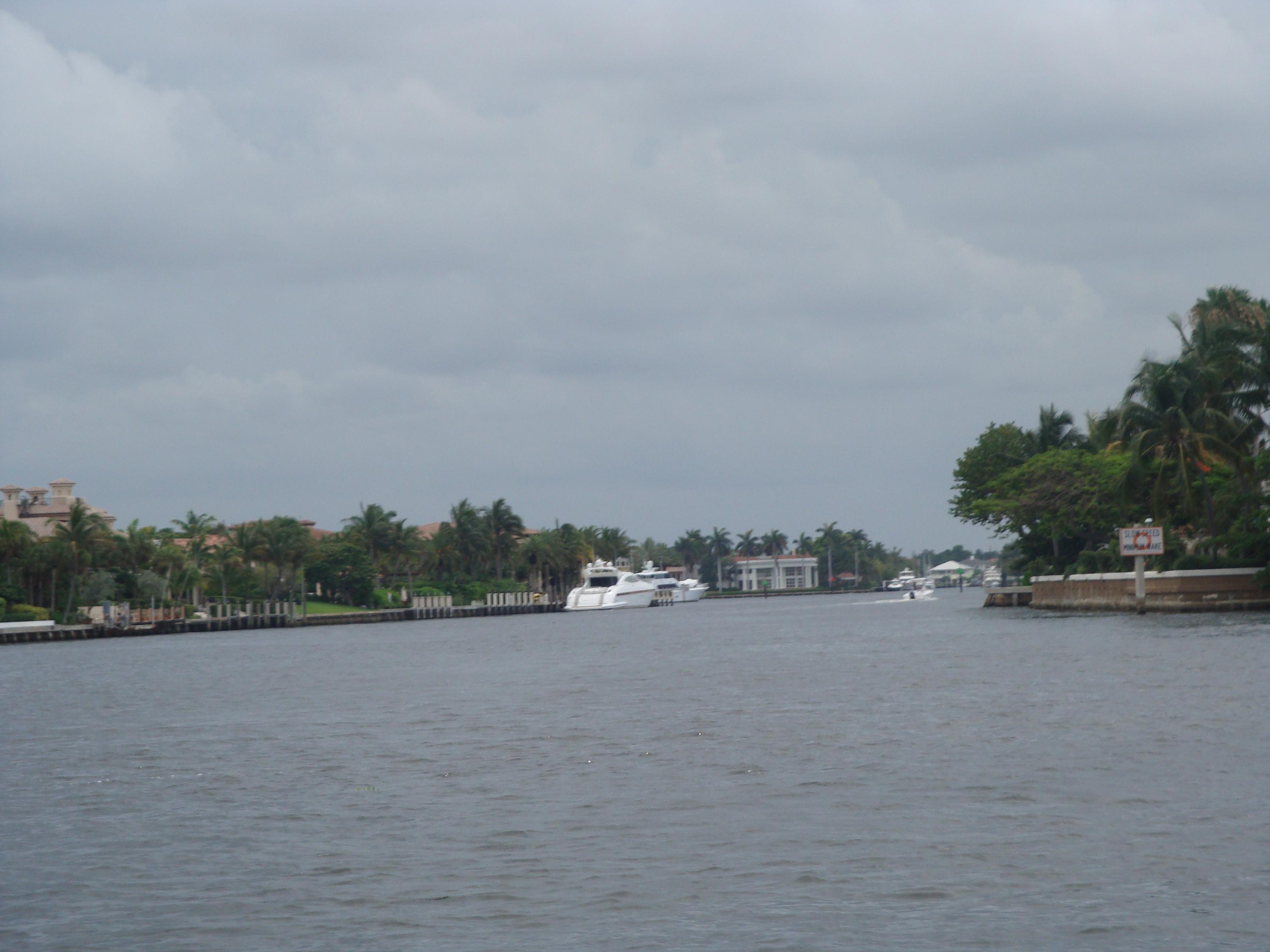8.-Fort Lauderdale: los canales y los Yates I