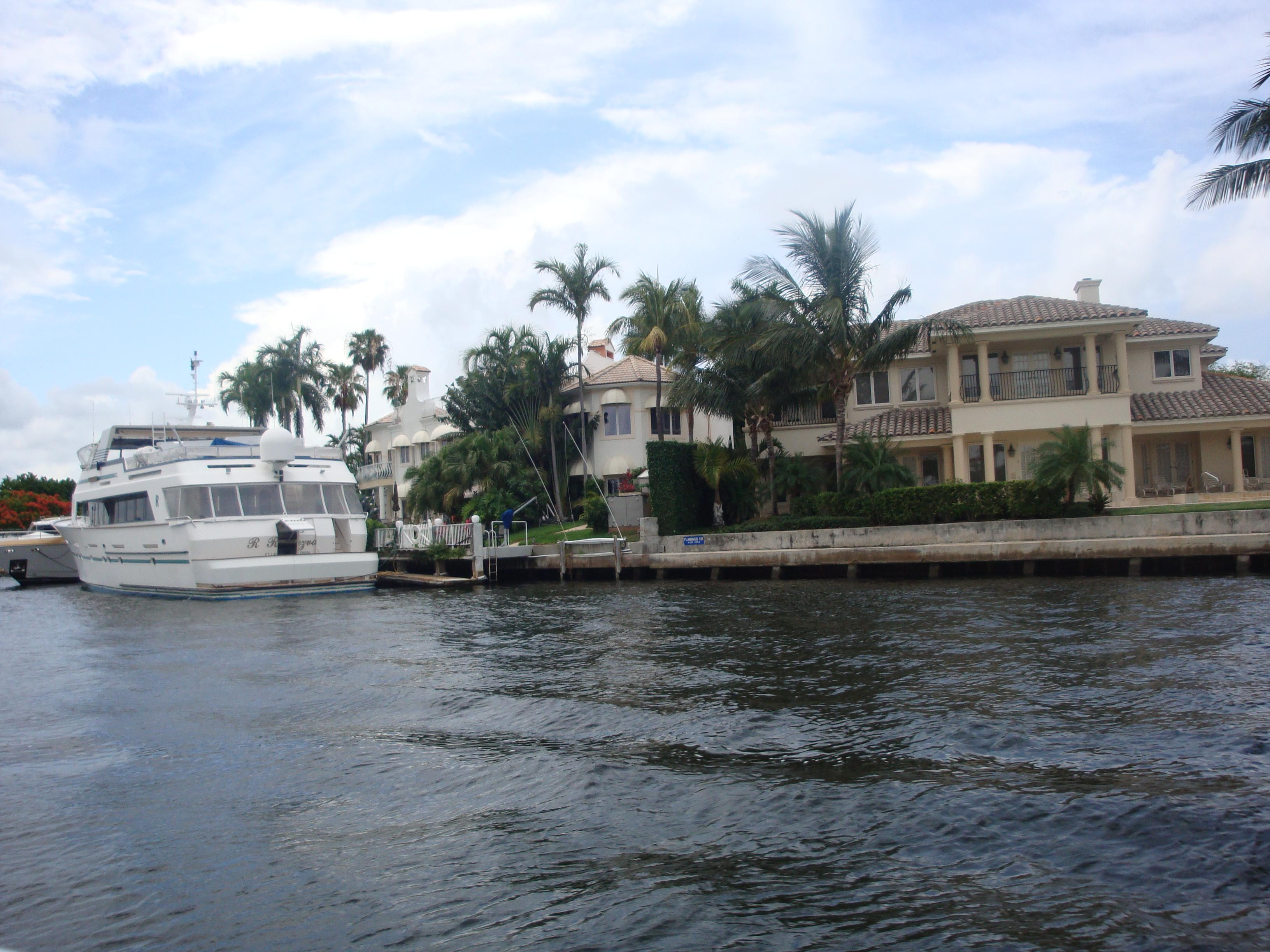 10.-Fort Lauderdale: las mansiones y sus yates I