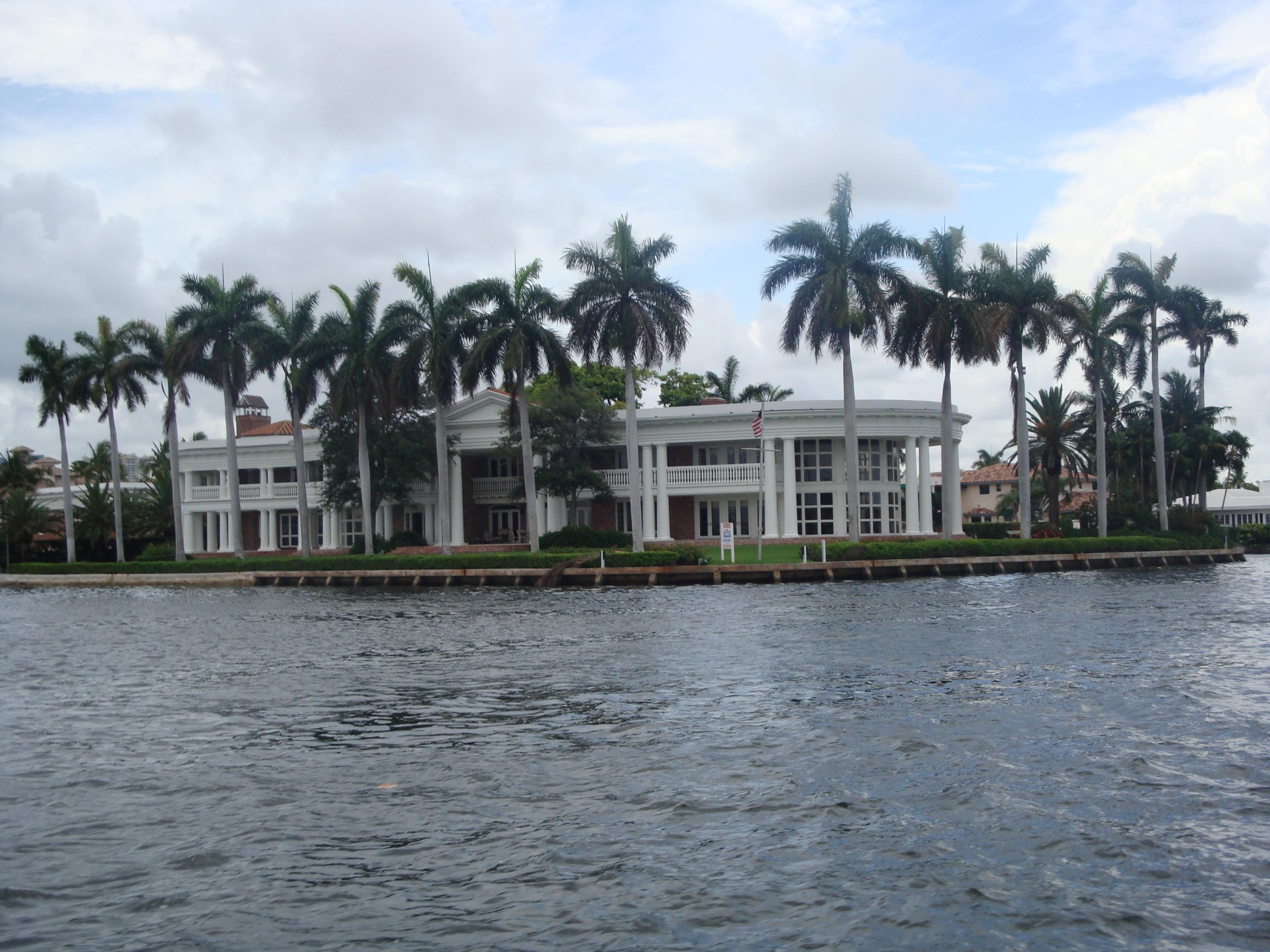 13.- Fort Lauderdale: vista de mansiones III