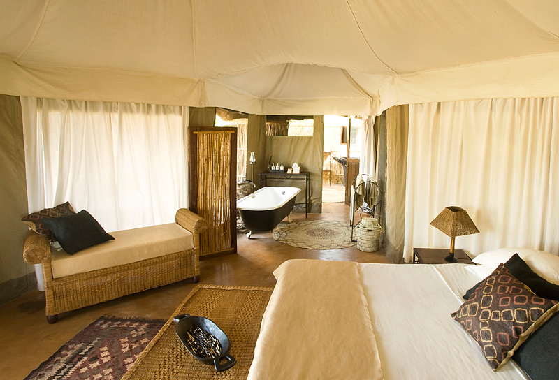 Mchenja Bush Camp - Norman Carr Safaris