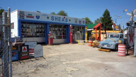 Shea's Gas Station