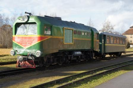 Gulbene Aluksne Narrow Gauge Railway