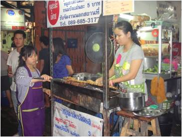 Sukhumvit Soi 38 Night Food Market