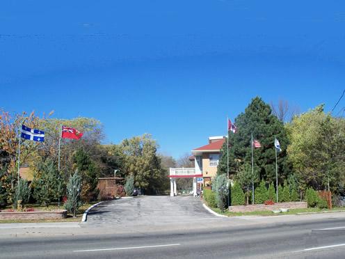 公園汽車旅館