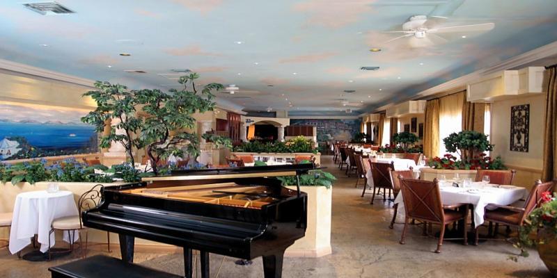 Sergio 39 S Italian Gardens Restaurant Las Vegas Paradise