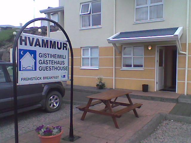 Guesthouse Hvammur