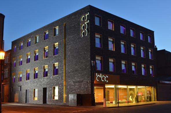 블록 호텔 버밍엄