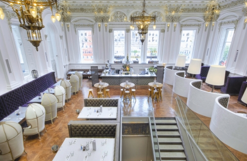 Tellers Bar & Brasserie at the Corinthian Club