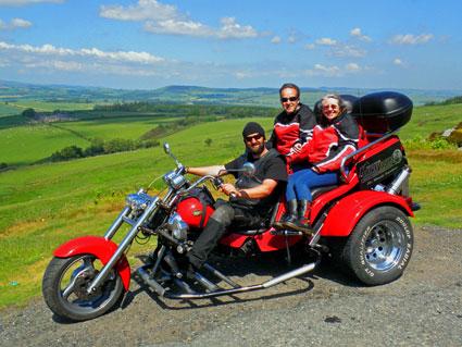Trike tours Northumberland