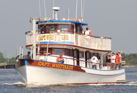 Captain Whittaker 65' Fishing Boat