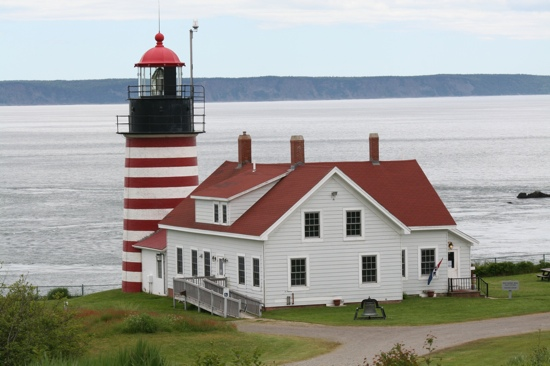 ‪West Quoddy Head Light‬