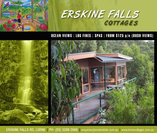 Lorne Erskine Falls Cottages