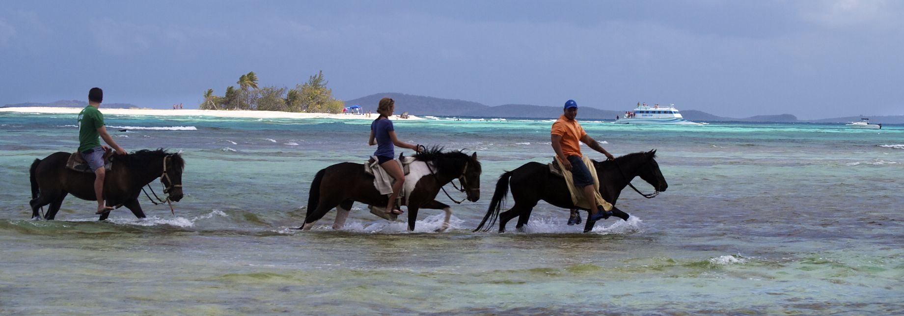 Horseback riding, Palominos Fajardo,PR