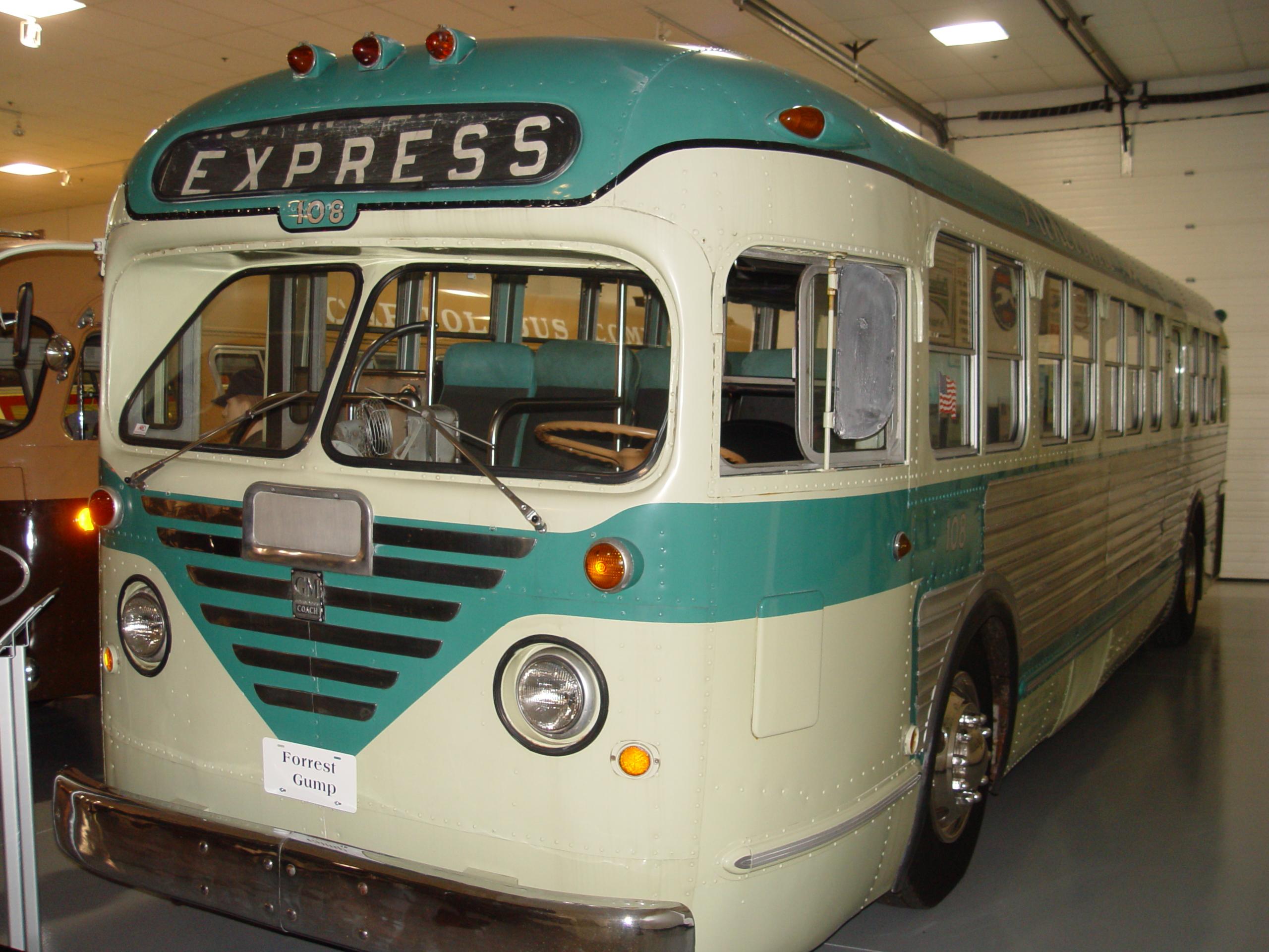 Forrest Gump Bus
