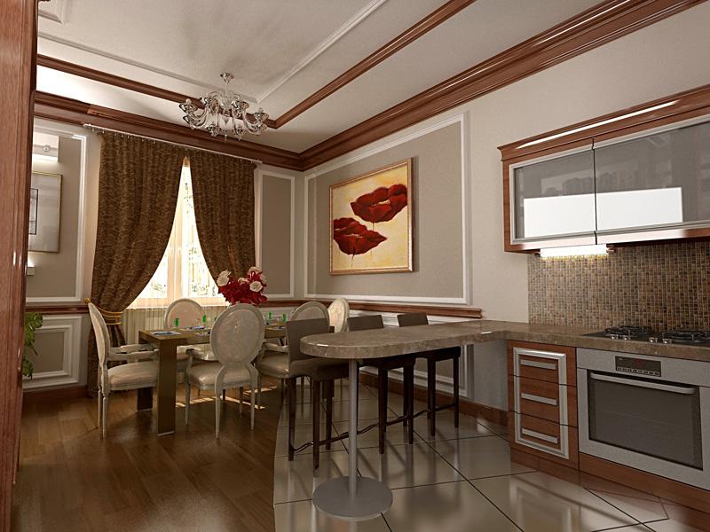 Роскошные апартаменты в Киеве