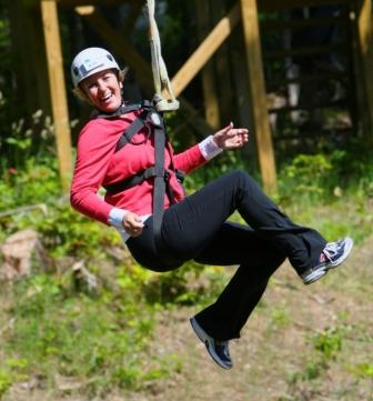 Zipline Adventure at Boyne Mountain
