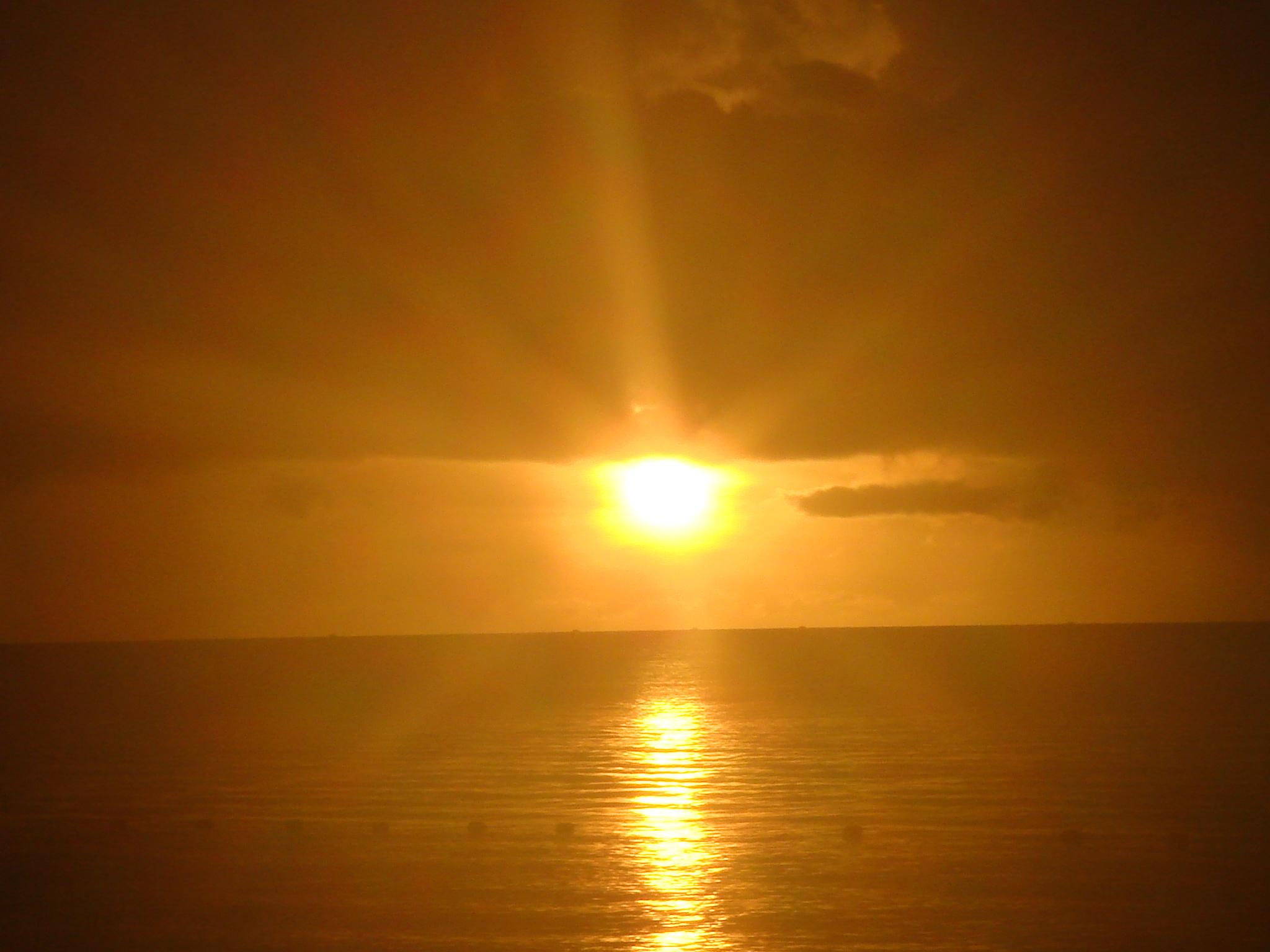 Puesto de sol en Antigua y Barbuda