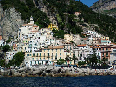 Tours of Amalfi Coast - Capri,Pompeii & More