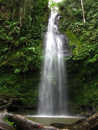Benang Stokal and Benang Kelambu Waterfall