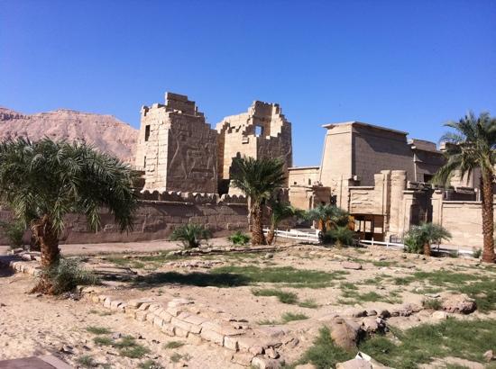 Temple des millions d'années de Ramsès III à Médinet Habou