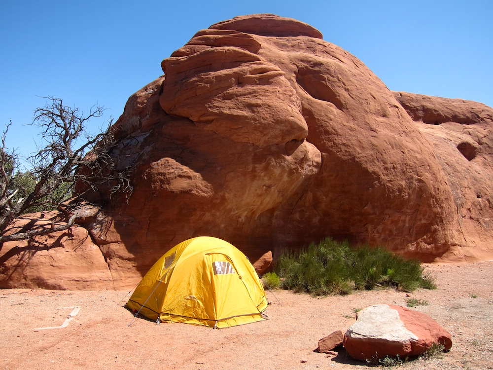 Devil 39 S Garden Campground Reviews Arches National Park