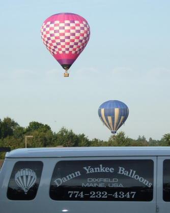 Damn Yankee Balloons