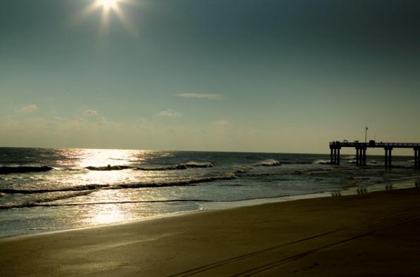 Pier on St. Augustine Beach