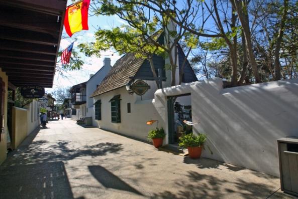 Shops on St. George Street