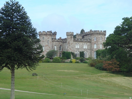 Cholmondeley Castle and gardens