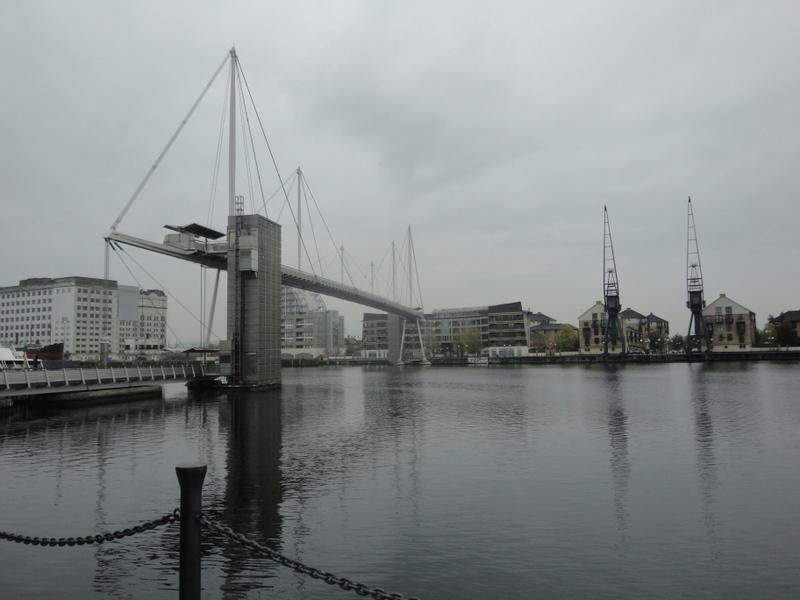 Royal Victoria Dock and Bridge The Top