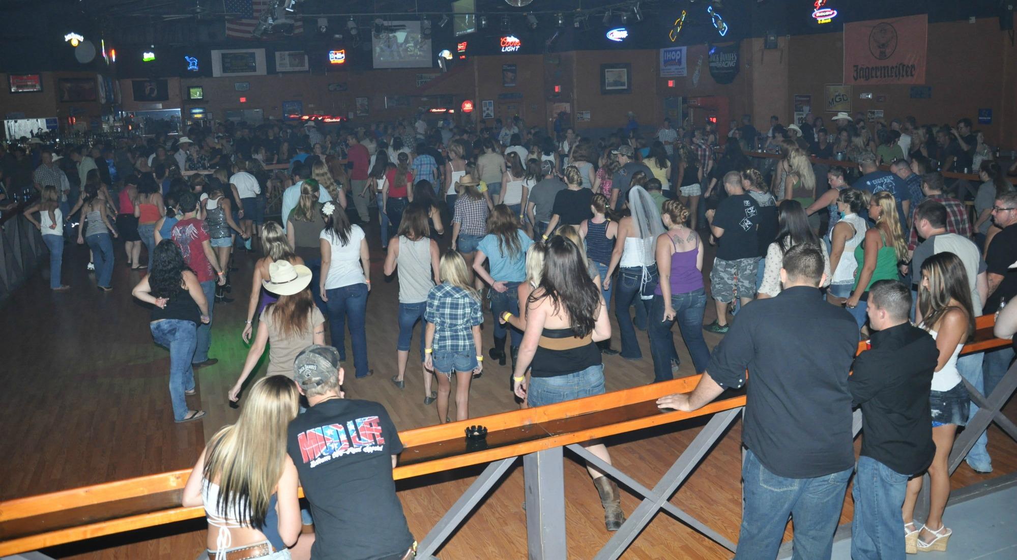 Waterin trough dance saloon