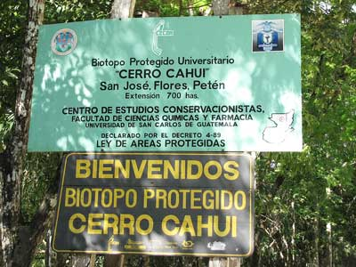 Cerro Biotope Cahui