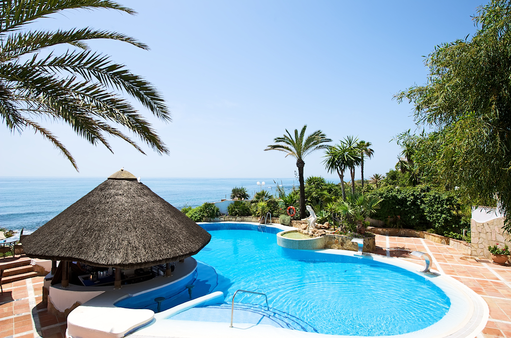 El Oceano Beach Hotel Mijas Costa Del Sol Spain Reviews Photos Price Comparison Tripadvisor