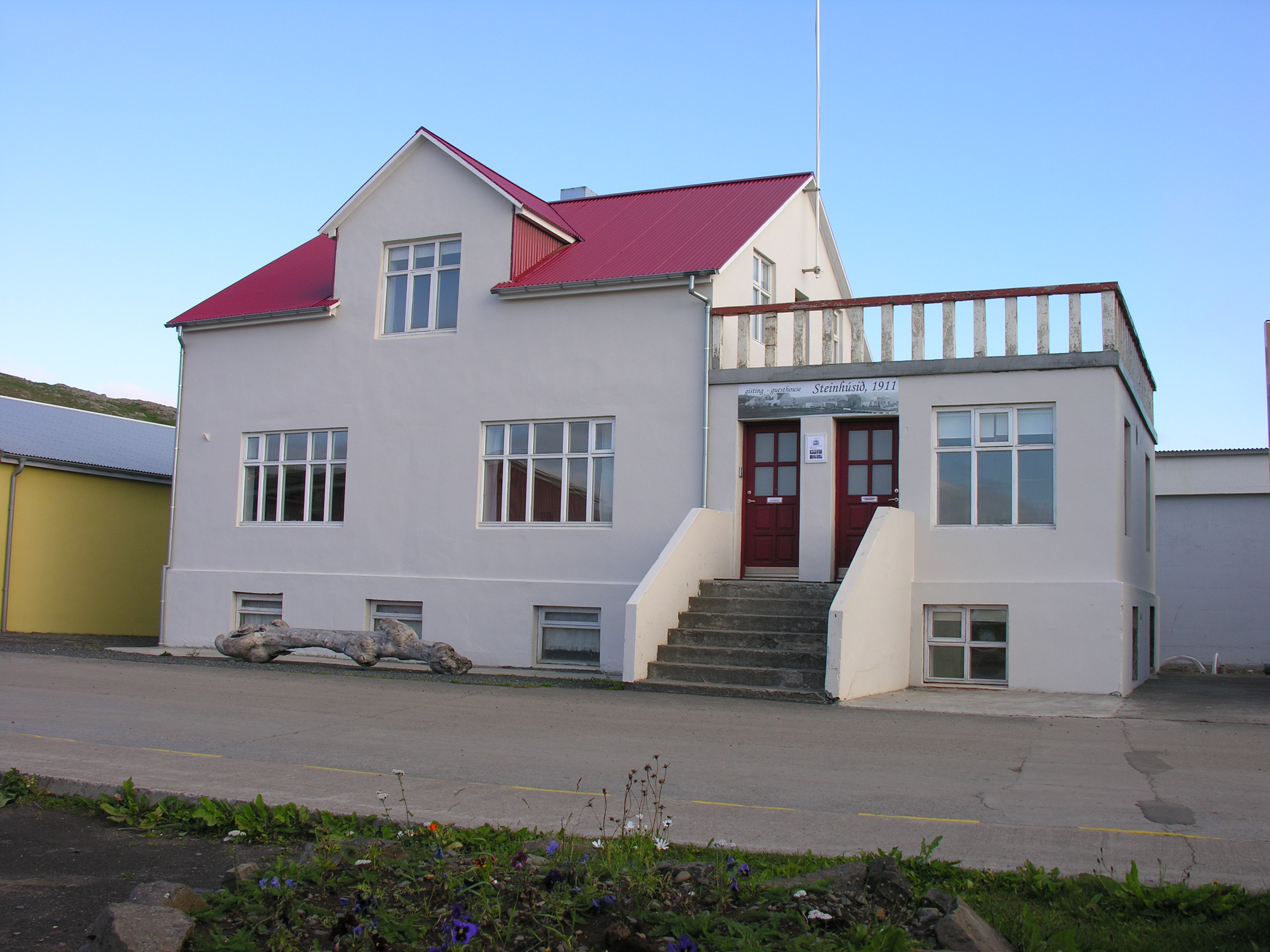 Guesthouse Steinhusid