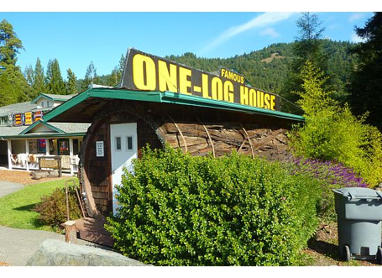 One Log House