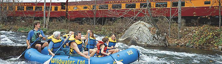 Wildwater Nantahala Raft and Rail