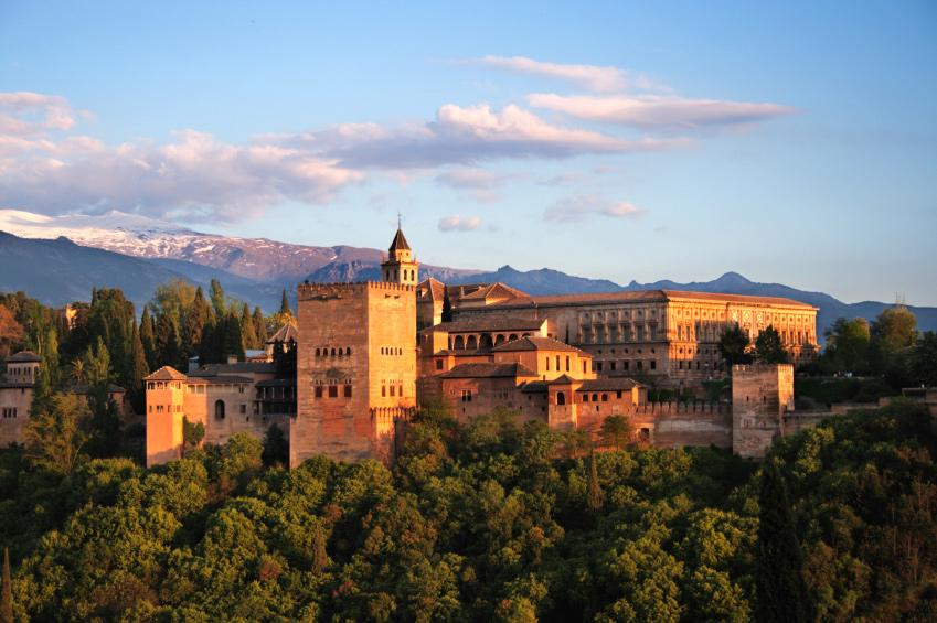 Winter Holidays to Spain Alhambra Palace