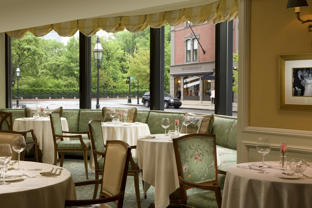 The Cafe at Taj Boston The 10