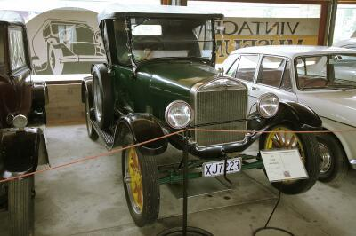 Geraldine Vintage Car and Machinery Museum