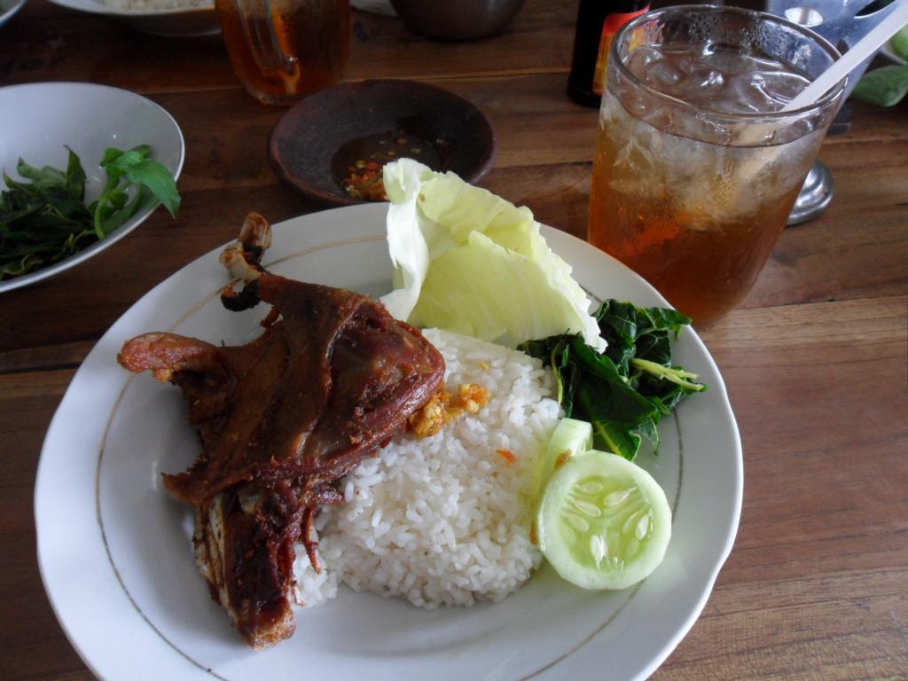 Bebek Goreng Haji Slamet Yogyakarta Ulasan Restoran Tripadvisor