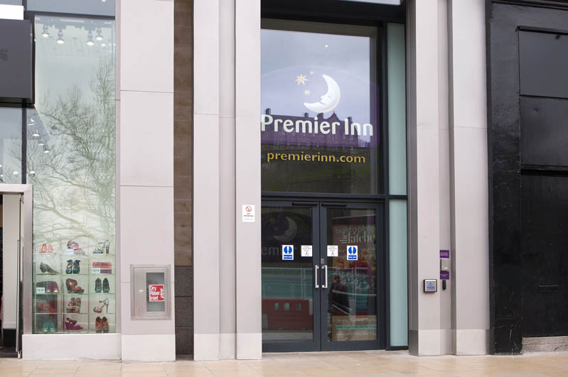 ‪Premier Inn Edinburgh City Centre (Princes Street) Hotel‬