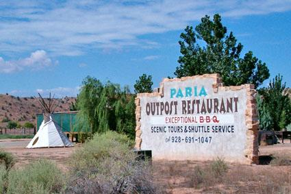 Paria Outpost and Outfitters