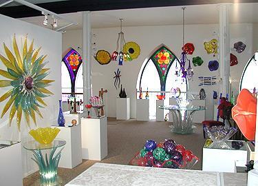 Greenwood Glass Blowing Studio/Gallery/School