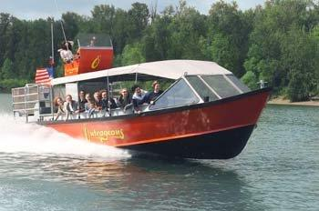 Outrageous Jet Boat River Cruise